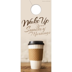 Coffee Invite DoorHangers