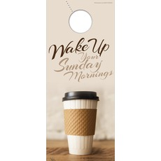 Coffee Invite Door Hanger