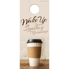 Coffee Invite Door Hanger