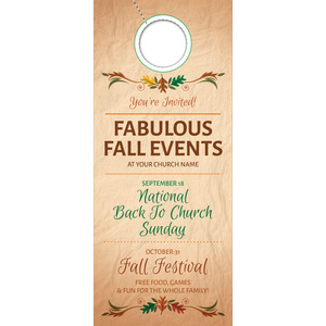 Fabulous Fall Door Hangers