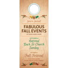 Fabulous Fall Door Hanger