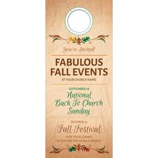 Fabulous Fall Door Hanger