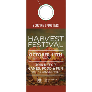Harvest Apples DoorHangers