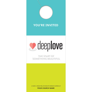 Deep Love DoorHangers