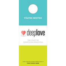 Deep Love Door Hanger
