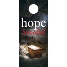 Hope Revealed Manger Door Hanger