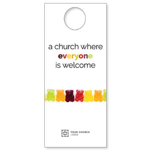 Gummi Bear Welcome Door Hangers