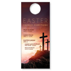 Easter Crosses Hilltop Door Hanger