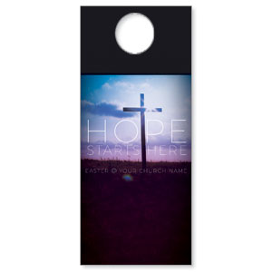 Hope Starts Here Door Hangers