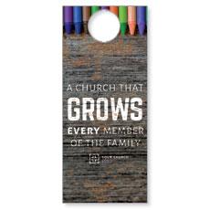 Crayons Door Hanger