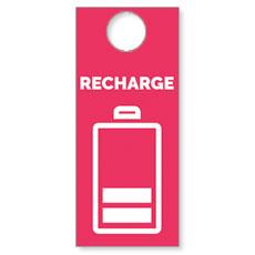Recharge Door Hanger