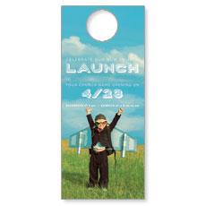 Rocket Kid Launch Door Hanger