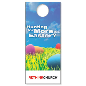 UMC Easter Hunt Door Hangers