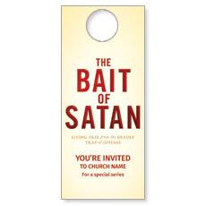 Bait of Satan Door Hanger