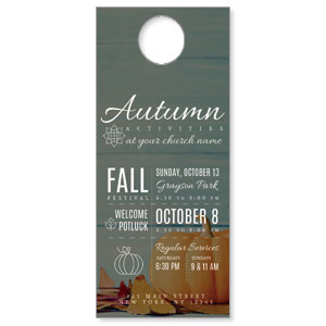 Autumn Activities DoorHangers