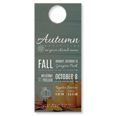 Autumn Activities Door Hanger
