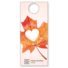Heart Leaf Door Hanger