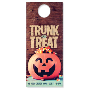 Trunk or Treat Door Hangers