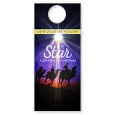 The Star A Journey to Christmas Door Hanger