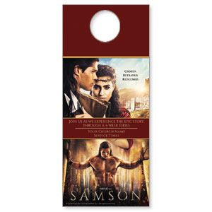Samson Movie Door Hangers