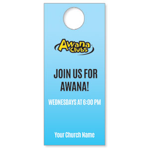 Awana Clubs Door Hangers