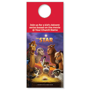 The Star Movie Advent Series for Kids DoorHangers