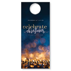 Glitter Sparkle Christmas Door Hanger