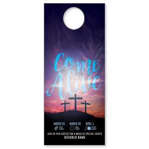 Come Alive Easter Journey DoorHangers