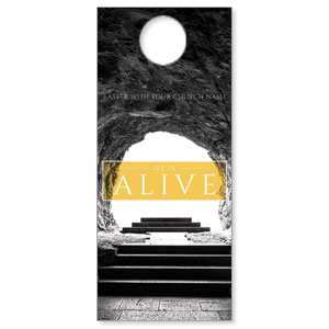 Alive Empty Tomb Door Hangers