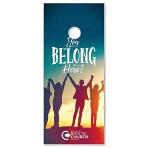 BTCS You Belong Here Door Hangers