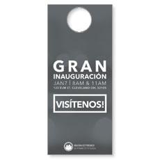 CityReach Blurred Gray Spanish Door Hanger