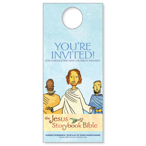 Jesus Storybook Bible Door Hangers