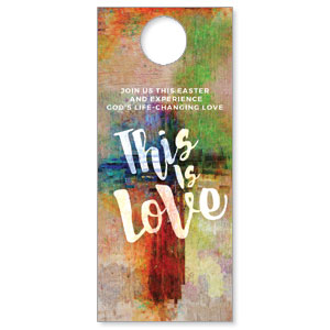 This is Love Easter Door Hangers