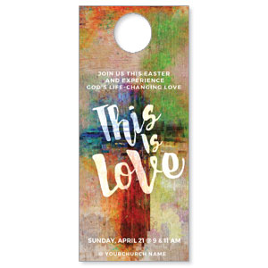 This is Love Easter DoorHangers