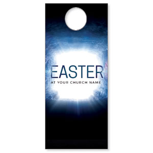 Easter Tomb DoorHangers
