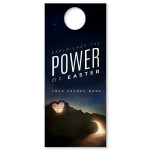 Power of Easter Tomb Door Hangers