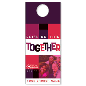 BTCS Together People DoorHangers