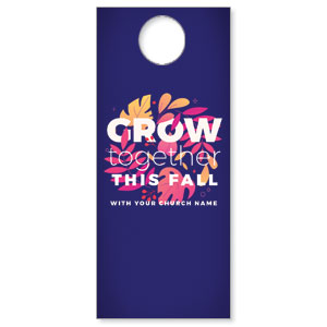 Grow Together Fall DoorHangers