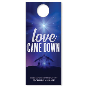 Aurora Lights Christmas DoorHangers