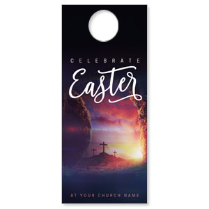 Dramatic Tomb Easter DoorHangers
