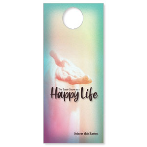 Happy Life DoorHangers