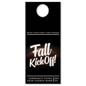 Kickoff This Fall DoorHangers