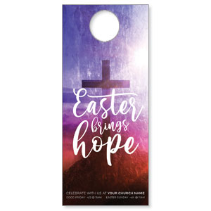 Easter Brings Hope Cross DoorHangers