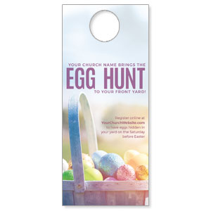 Egg Hunt Front Yard DoorHangers