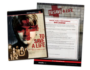 To Save a Life Movie License Packages