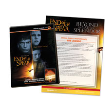 End of the Spear Movie License Package