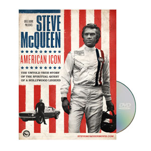 Steve McQueen Icon DVD License
