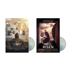 Risen & The Case for Christ Movies Combo Movie License Package