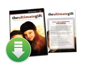 The Ultimate Gift Movie License Packages