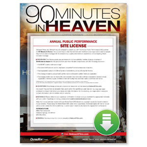 90 Minutes in Heaven Digital License Standard Digital Movie License